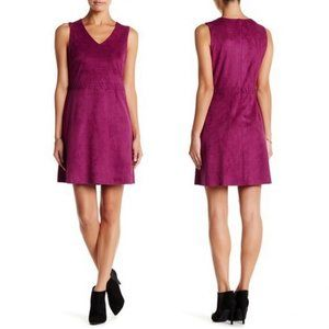 NWT CeCe Suede Dress 8